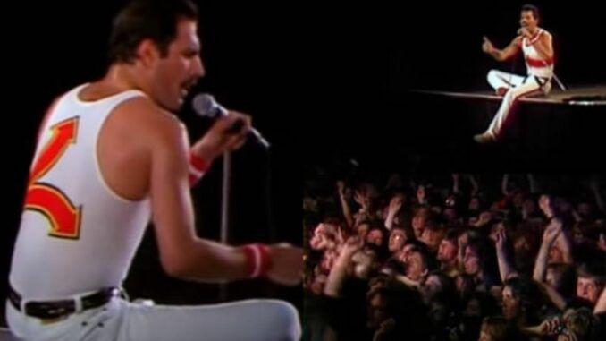queen freddie mercury milton keynes 1982 tour