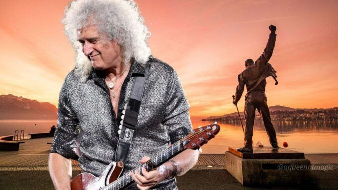 brian may freddie mercury queen nothin but blue back to the light