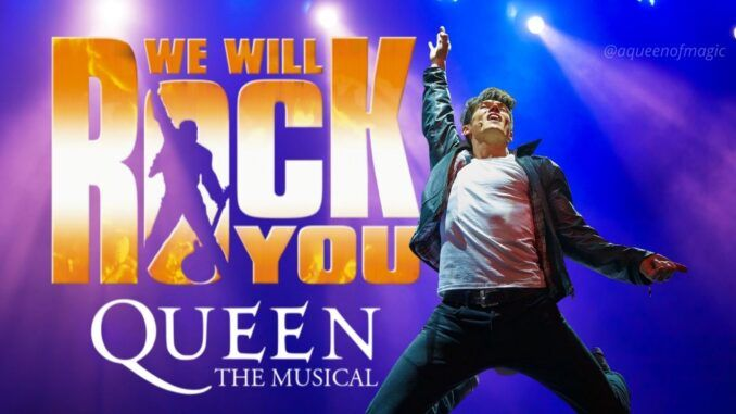 queen we will rock you wwry musical madrid