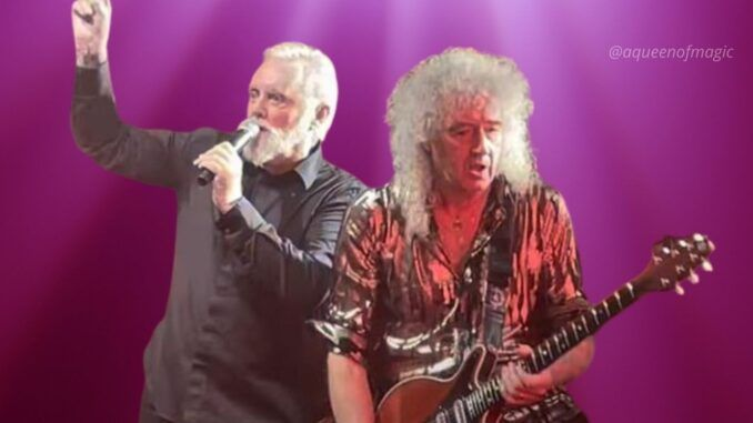 roger taylor brian may queen outsider london londres